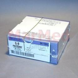 Šicí materiál Polysorb fialový, USP 3/0 (metric 2) + jehla CV-25 (HR-22), 75 cm, 36 kusů, GL182