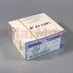 Šicí materiál Polysorb fialový, USP 2/0 (metric 3) + jehla V-30 (HR-30), 75 cm, 36 kusů, GL223