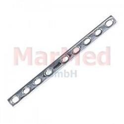 Dlaha kostní pro kortikální šrouby 4,5 mm, 9 otvorů, šířka 12 mm, délka 151 mm, síla 3,8 mm