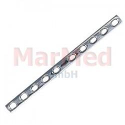 Dlaha kostní pro kortikální šrouby 4,5 mm, 10 otvorů, šířka 12 mm, délka 167 mm, síla 3,8 mm