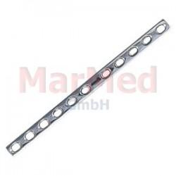 Dlaha kostní pro kortikální šrouby 4,5 mm, 11 otvorů, šířka 12 mm, délka 183 mm, síla 3,8 mm
