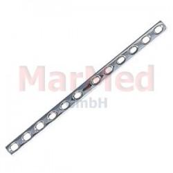 Dlaha kostní pro kortikální šrouby 4,5 mm, 12 otvorů, šířka 12 mm, délka 199 mm, síla 3,8 mm