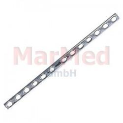 Dlaha kostní pro kortikální šrouby 4,5 mm, 13 otvorů, šířka 12 mm, délka 215 mm, síla 3,8 mm