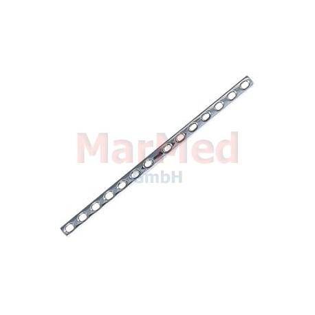 Dlaha kostní pro kortikální šrouby 4,5 mm, 14 otvorů, šířka 12 mm, délka 231 mm, síla 3,8 mm