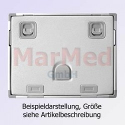 RTG-kazeta, aluminium, 13x18 cm