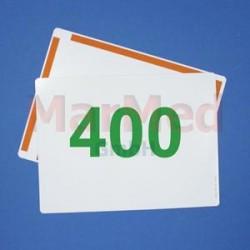Zesilovací fólie tř. 400, zelenocitlivá, Rare Earth, 13 x 18 cm