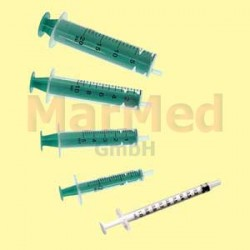 Injekční stříkačka jednorázová Dispomed, 10 ml, 2-dílná, 12 x 100 ks