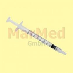 Injekční stříkačka TBC Becton Dickinson (stříkačka s jemným dávkováním), 3-dílná, 100 ks