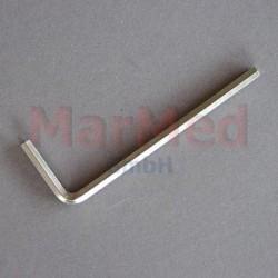 Klíč inbusový SW 3 na spojovací součástky Fixateur