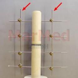 Tyč spojovací Fixateur, ? 2,0 mm, délka 250 mm