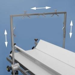 MarMed Odpojovací oblouk pro montáž na postranné kolejnice operačního stolu.