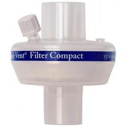 HME filtr, velký, mrtvý prostor 35 ml, rovný, ø 15/22 mm, 25 ks