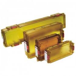 Ritter PolySteriBox M, Rozměry: 185 x 185x145x59 mm (vnější), 156x124x48 mm (vnitřní)
