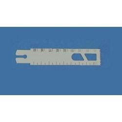 Bojin náhradní list čepele, 22 x 100 mm, tloušťka 1 mm, 1 ks