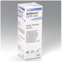 Reflotron GOT, 30 testů