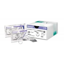 Novosyn fialová USP 0 (EP 3,5), 36ks, jehla HR-37, 70 cm, C0068052