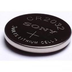 Baterie CR2032, 3 V lithiová knoflíková, ? 20 mm x 3,2 mm
