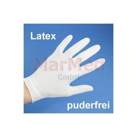 Rukavice vyšetřovací Nobaglove Latex, bez pudru velikost S