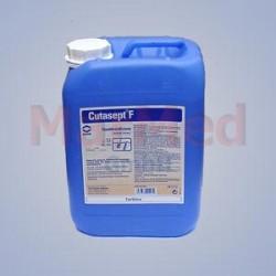 Desinfekce na kůži bezbarvá Cutasept F - BODE, 5 litrů - kanystr