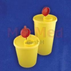 Kontejner jednorázový bezpečnostní na kontaminovaný odpad, 2500 ml, 1 kus