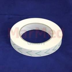 Sterilizační páska s indikátorem pro horkovzdušnou sterilizaci, role 19 mm x 50 m