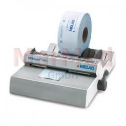 Svařovací přístroj na fólie MELAseal 100+ s válečkovým držákem a integrovaným pracovním stolem