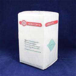 Kompres z netkané textílie Nobatop 8, nesterilní, 7,5 x 7,5 cm, 1 balení o 200 kusech