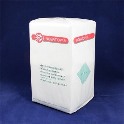 Kompres z netkané textílie Nobatop 8, nesterilní, 10 x 10 cm, 1 balení o 200 kusech