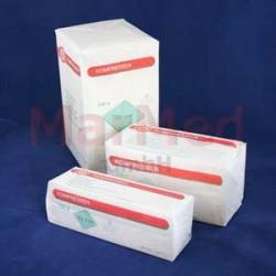 Komprese z gázy nesterilní, 12 vrstev, 7,5 x 7,5 cm, 100 kusů