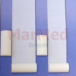 Obinadlo elastické fixační Nobatel, 5 m x 8 cm, 10 kusů, 49% bavlny a 51% polyamidu
