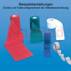 Obinadlo elastické NOBAHEBAN 4,5 m x 5,00 cm, červené, kohezivní, 10 kusů