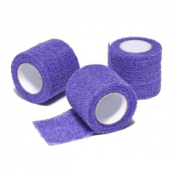 Obinadlo elastické VET-ColorFlex 4,5 m x 5,00 cm, kohezivní, šeříkové, 12 kusů