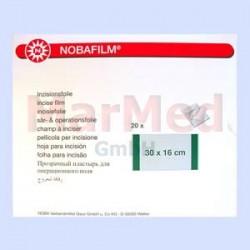 Fólie incizní Nobafilm, celková plocha 30 x 16 cm, lepící plocha, 24 x 16 cm, balení s 20 kusy