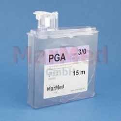 Šicí materiál - PGA, USP 2/0 (EP 3), 15 m