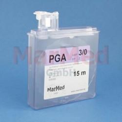 Šicí materiál - PGA, USP 0 (EP 3,5), 15 m