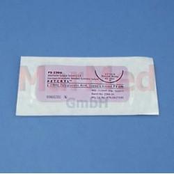 Šicí materiál - Petcryl (PGA), USP 2/0, délka 75 cm + jehla HR 30 - 12 ks
