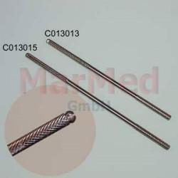 Držák mikrochirurgických skalpelových čepelek, délka cca 15,5 cm, německá kvalita